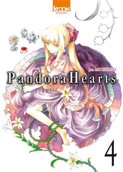 Couverture pandora hearts tome 4