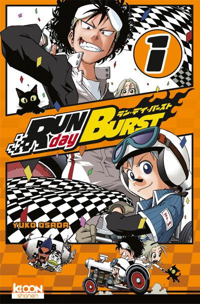 Couverture run day burst tome 1