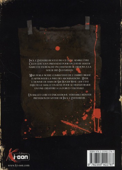 Dos hell blade tome 3