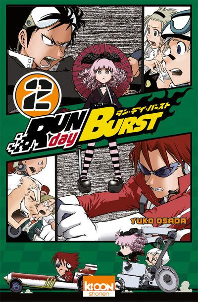 Couverture run day burst tome 2