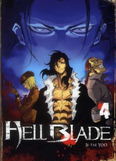 Couverture hell blade tome 4