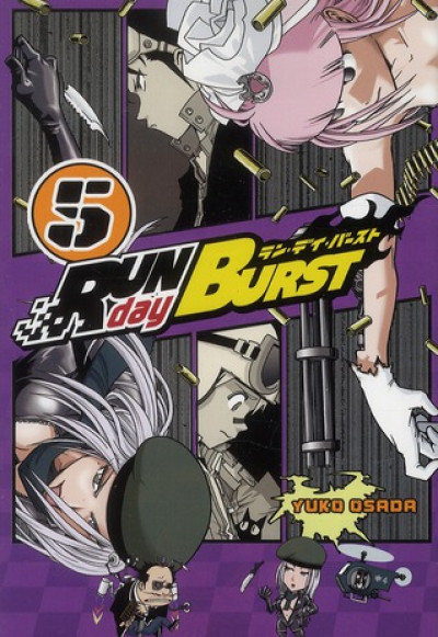 Couverture run day burst tome 5