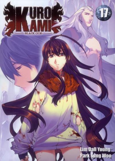 Couverture kurokami black god tome 17