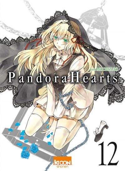 Couverture pandora hearts tome 12