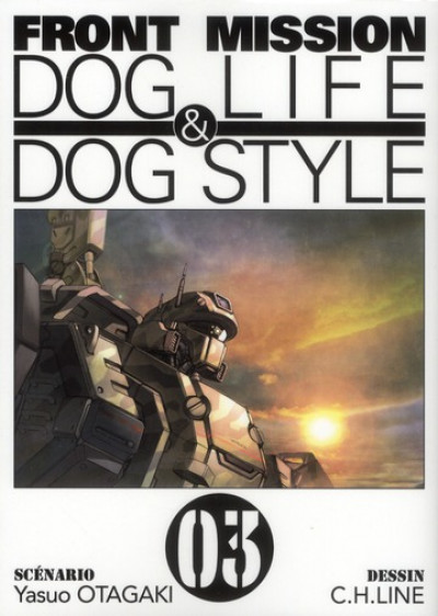 Couverture front mission, dog life & dog style tome 3