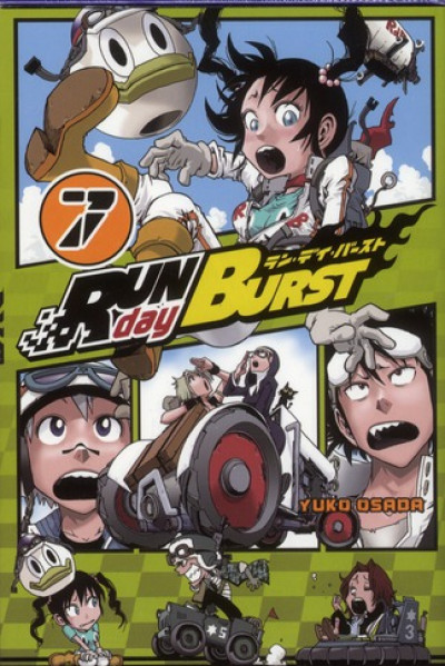 Couverture run day burst tome 7