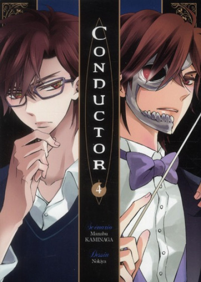 Couverture conductor tome 4
