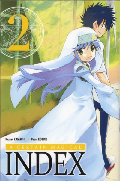 Couverture a certain magical index tome 2