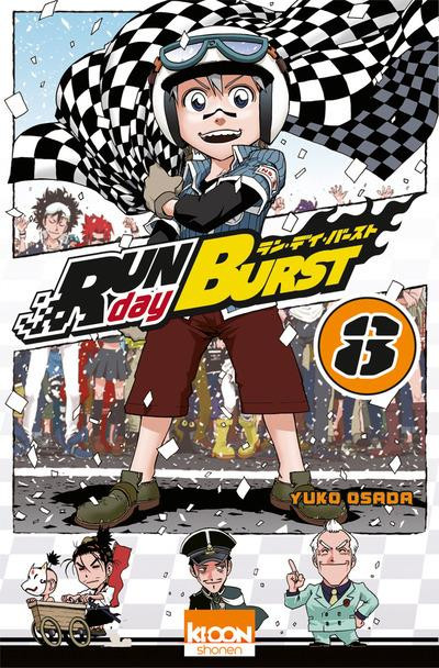 Couverture run day burst tome 8