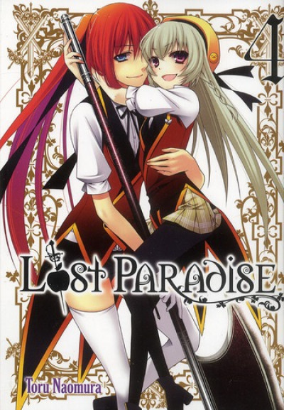 Couverture lost paradise tome 4