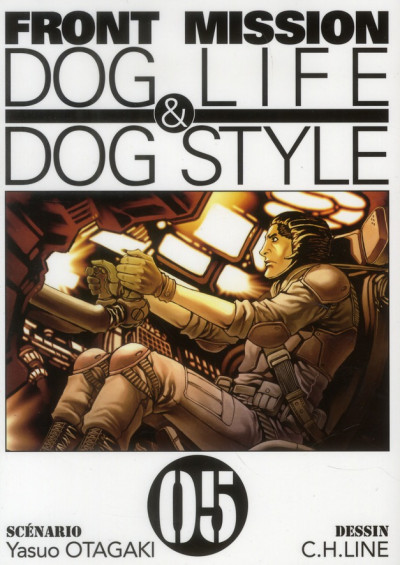 Couverture front mission, dog life & dog style tome 5