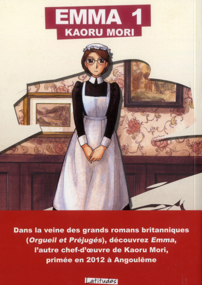Couverture emma tome 1 - grand format
