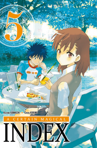 Couverture A certain magical index tome 5