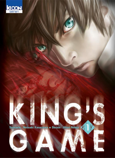 Couverture King's game tome 1