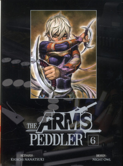 Couverture The arms peddler tome 6