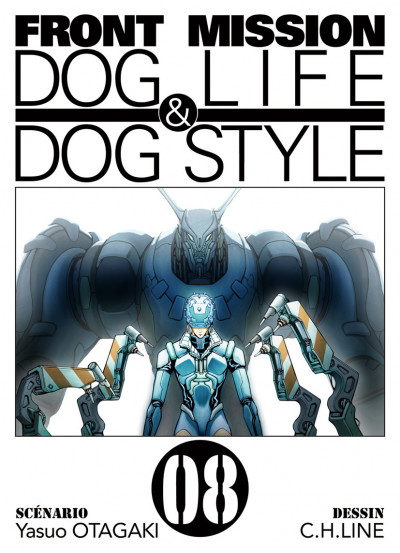 Couverture front mission, dog life & dog style tome 8