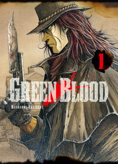 Couverture Green blood tome 1