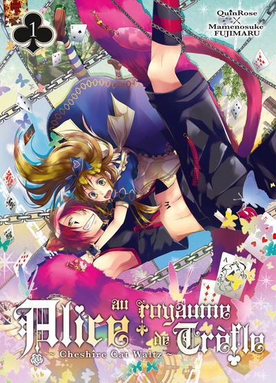 Couverture Alice au royaume de trèfle tome 1