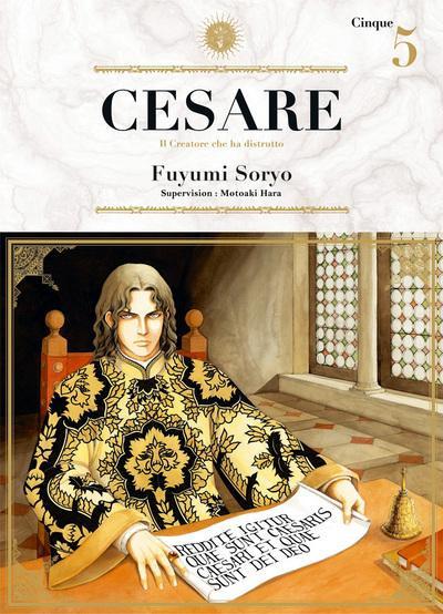 Couverture Cesare tome 5