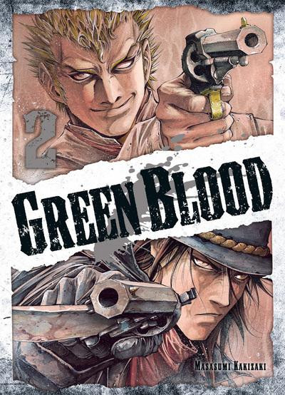 Couverture Green blood tome 2