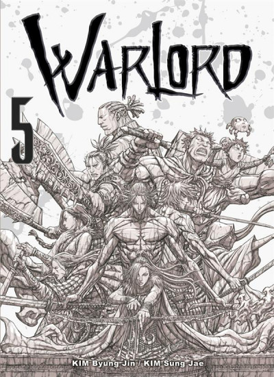 Couverture Warlord tome 5