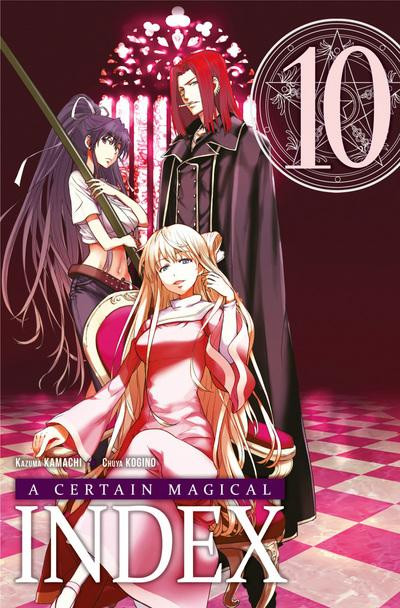 Couverture a certain magical index tome 10