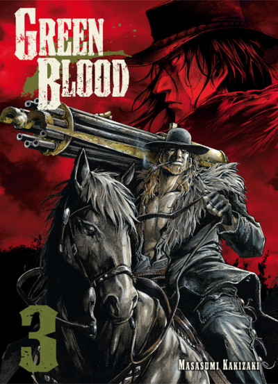 Couverture green blood tome 3