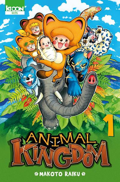 Couverture animal kingdom tome 1