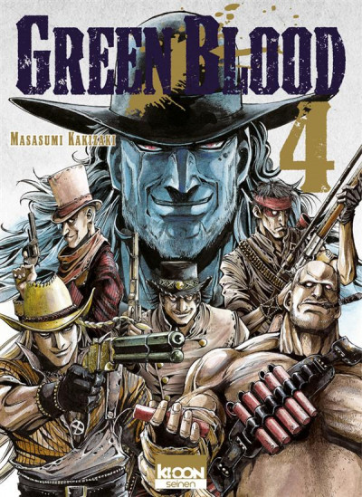 Couverture green blood tome 4