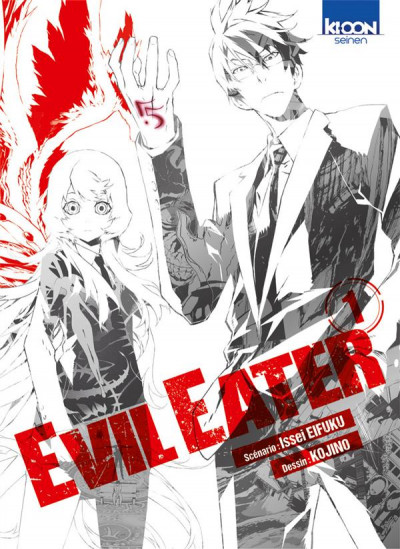 Couverture evil eater tome 1