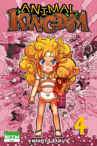 Couverture Animal Kingdom Tome 4