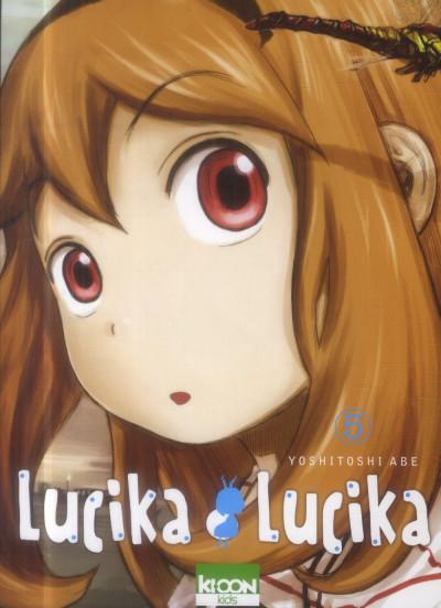 Couverture Lucika Lucika Tome 5