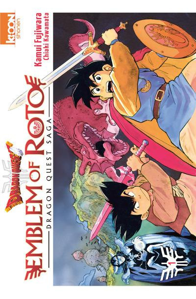 Couverture Dragon Quest - Emblem of Roto Tome 1