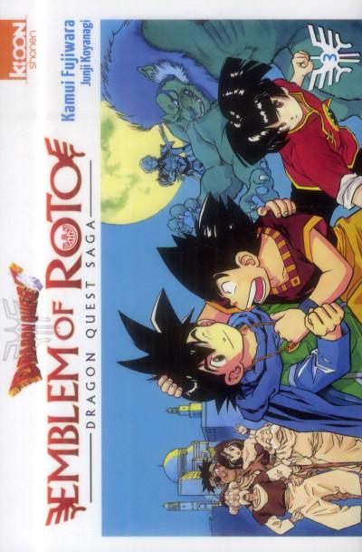 Couverture Dragon Quest - Emblem of Roto Tome 3