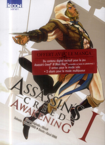 Couverture Assassin's Creed Awakening Tome 1