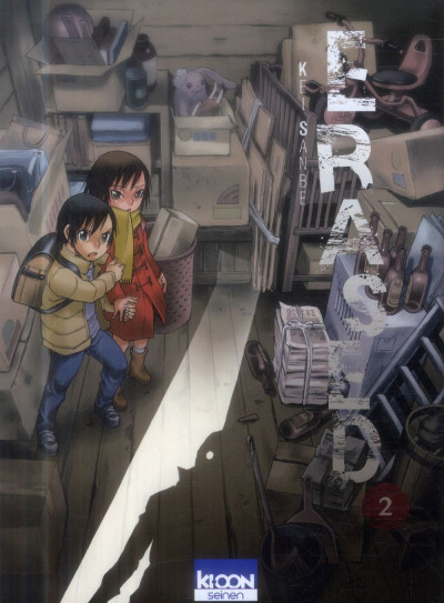 Couverture Erased tome 2