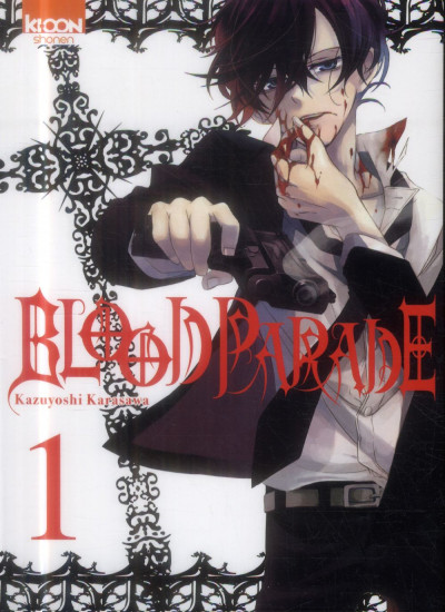 Couverture Blood Parade Tome 1