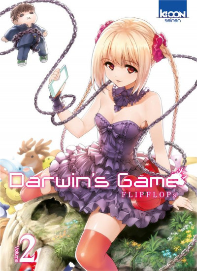 Couverture Darwin's game tome 2