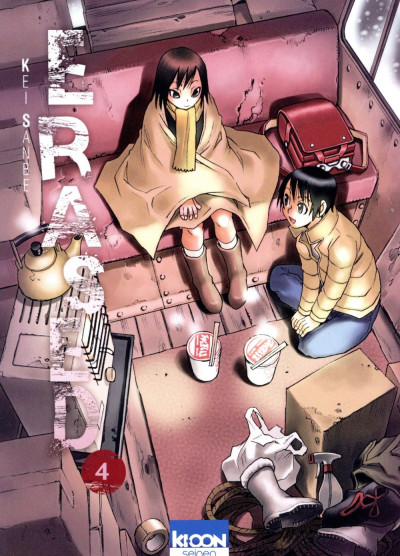 Couverture Erased tome 4