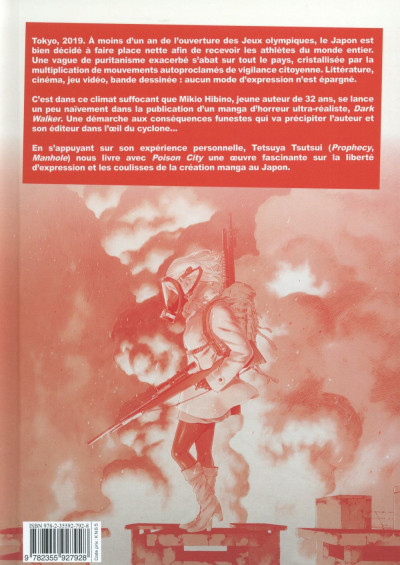 Dos Poison city tome 1 - grand format