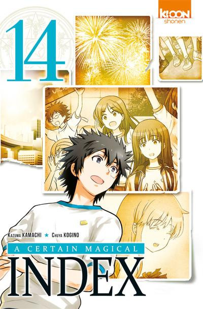 Couverture A certain magical index tome 14