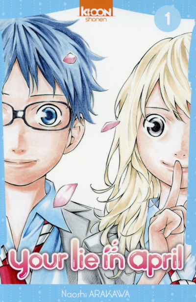 Couverture Your lie in april tome 1