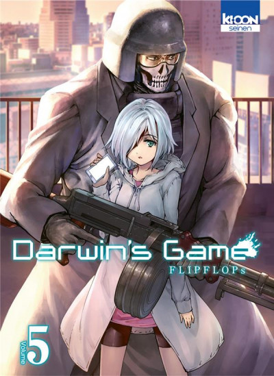 Couverture Darwin's game tome 5