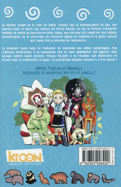 Dos Animal Kingdom tome 11