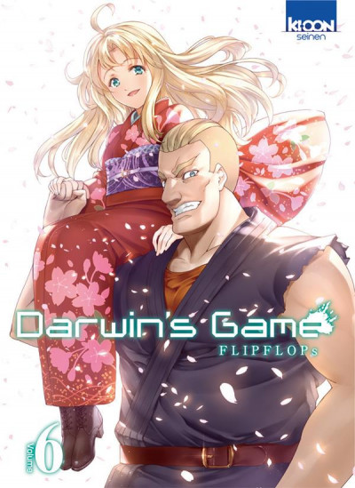 Couverture Darwin's game tome 6