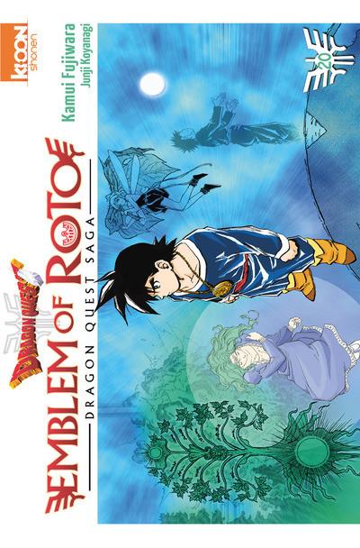 Couverture Dragon quest - emblem of roto tome 20