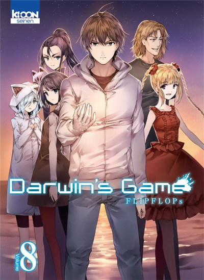 Couverture Darwin's game tome 8