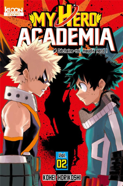 Couverture My hero academia tome 2