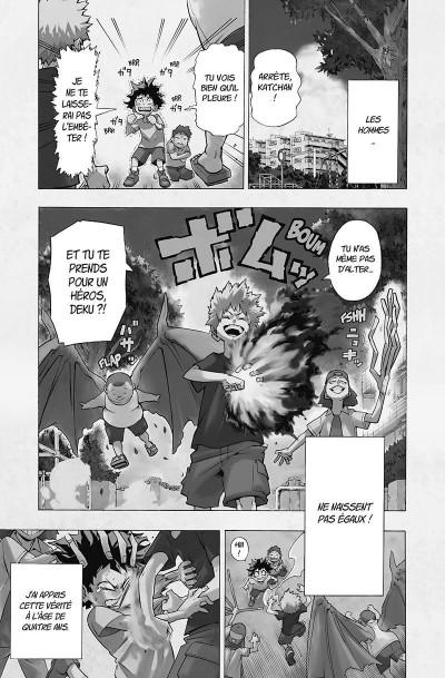 Page 4 My hero academia tome 1