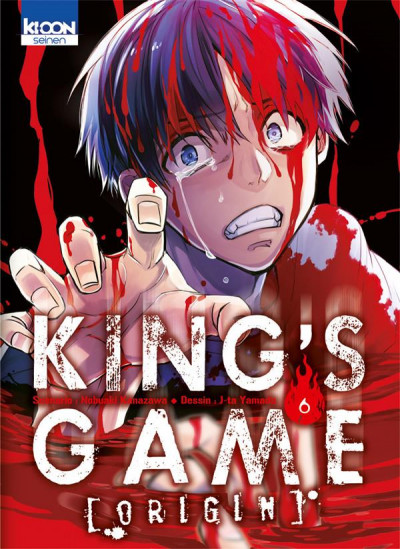 Couverture King's game origin tome 6